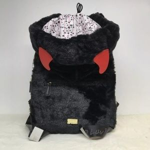 Betsey Johnson Devil Vampire Backpack Hoodie NWT
